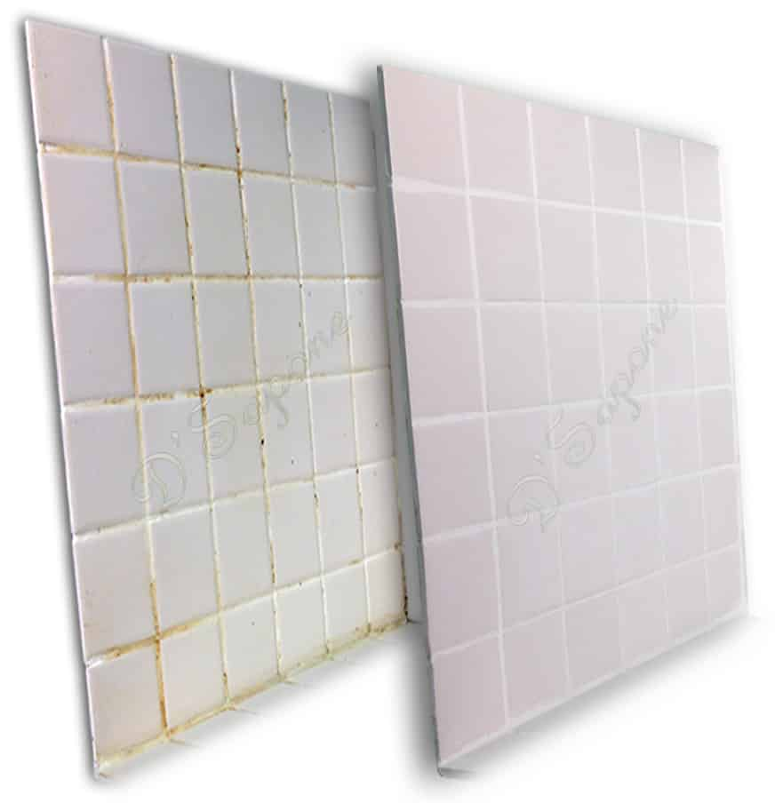 Tile and Grout Color sealing and cleaning D'Sapone