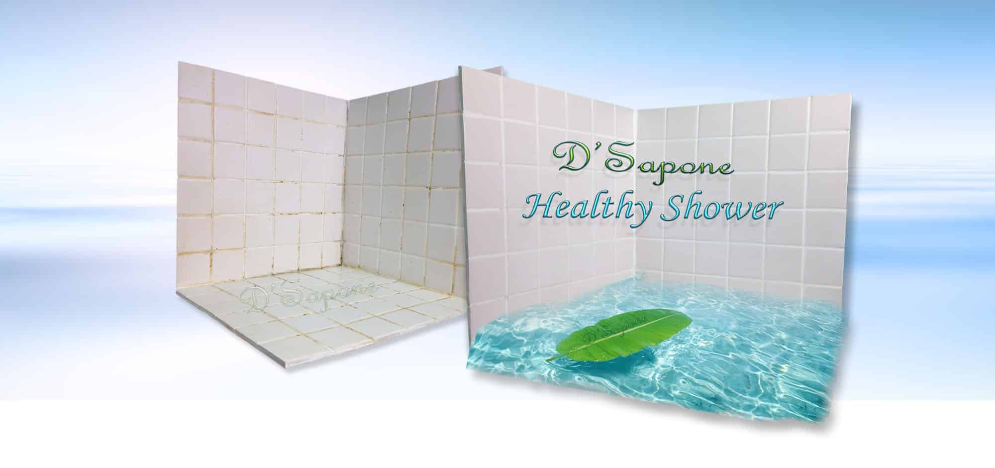 DSapone healthy shower restoration