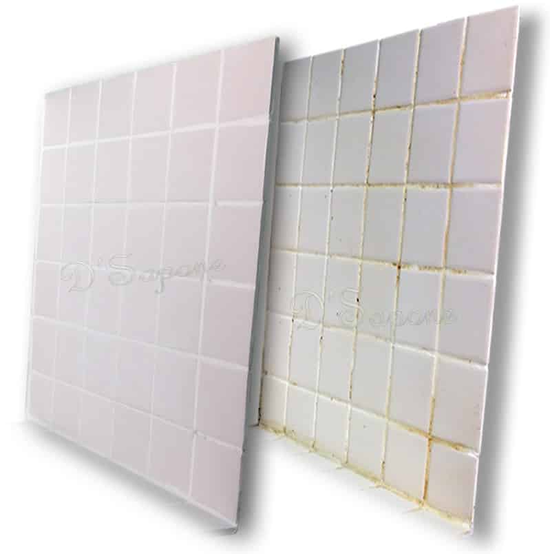 Shower Restoration with Caponi tile, grout, stone professionals D'Sapone