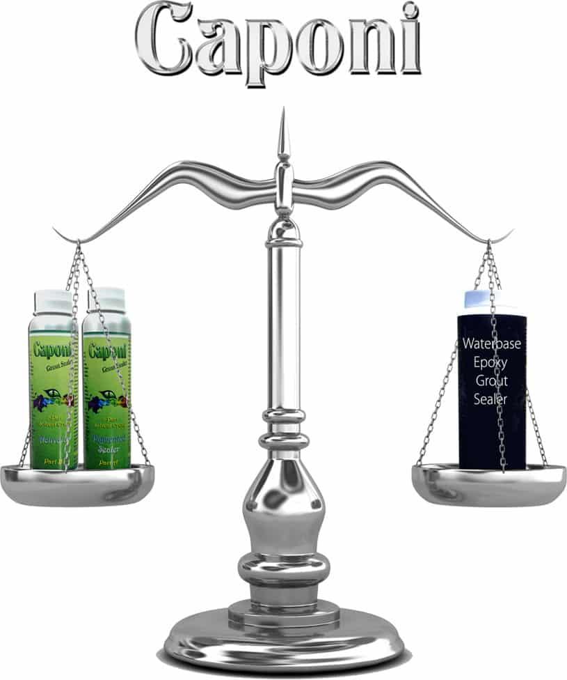 Caponi vs Water Based Sealer