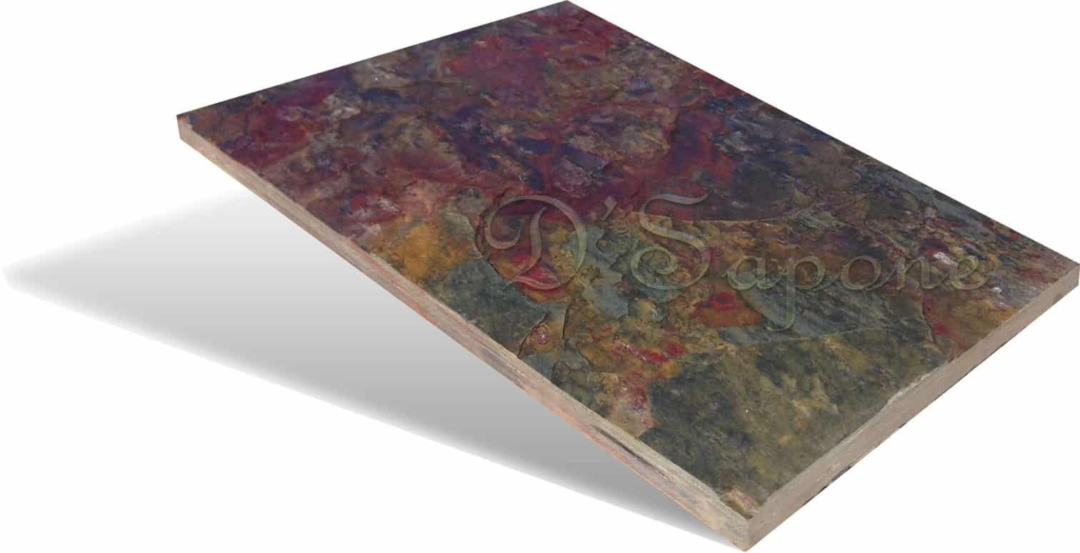 Unsealed Slate Tile