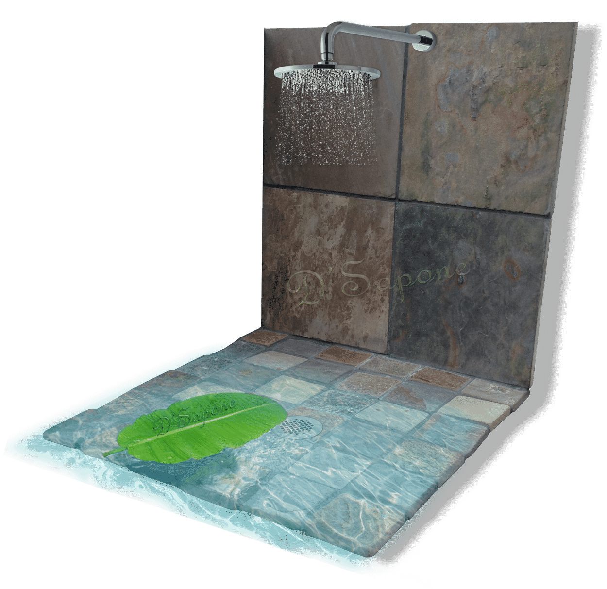 Healthy Slate Shower