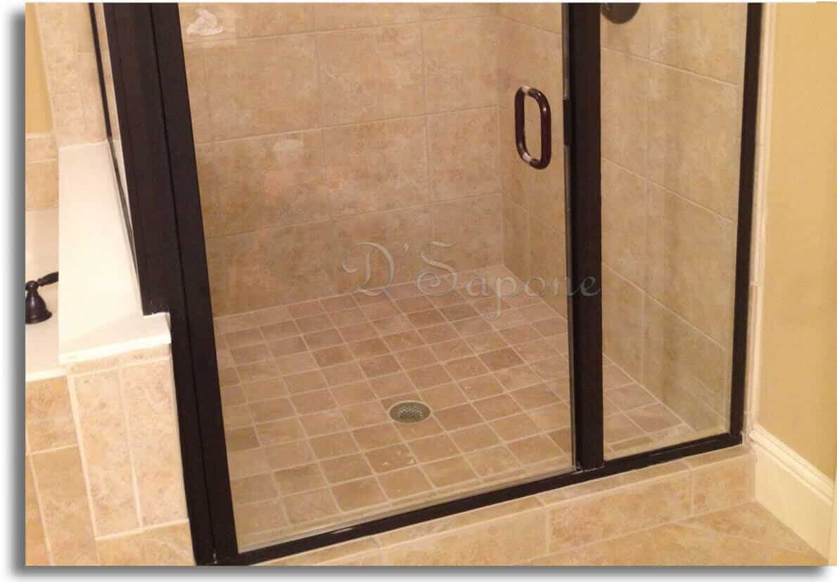 shower glass restoration