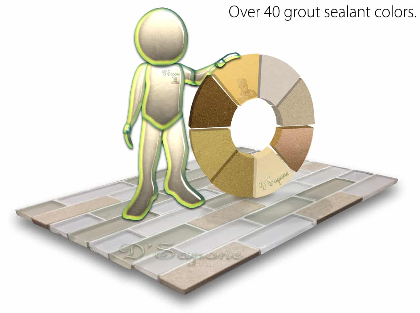 Are you Looking for the Correct Color Seal for your Grout