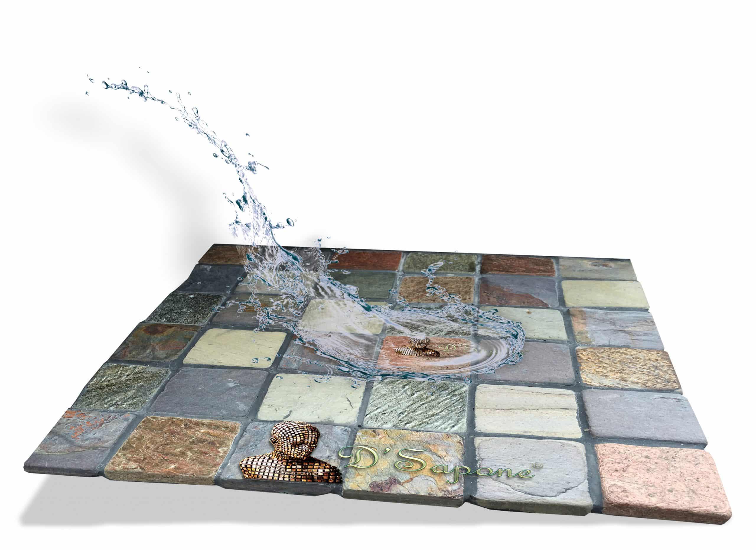 Natural Look Penetrating sealer Slate stone showers