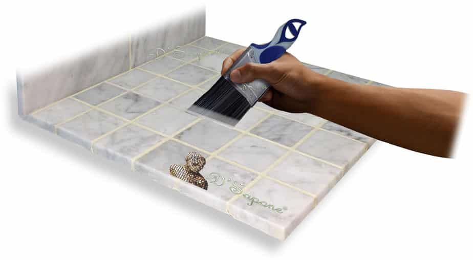 Marble-Shower-Restoration-Seal-Cleaning-Grout-Tile