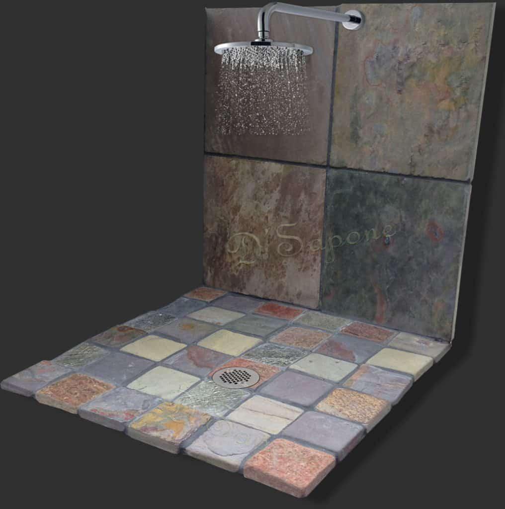 slate shower restoration