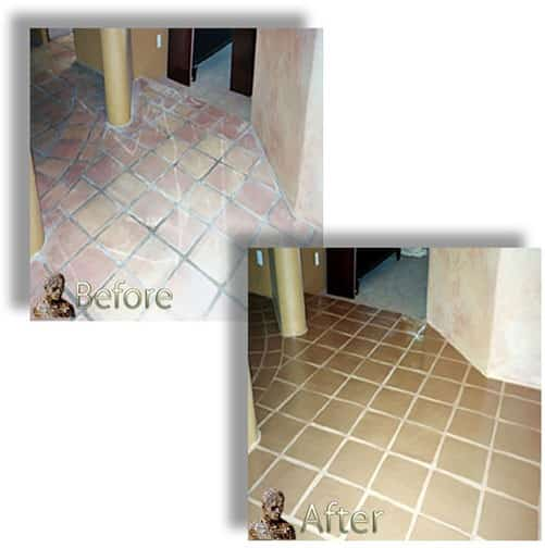 Saltillo Mexican Tile Restoration-