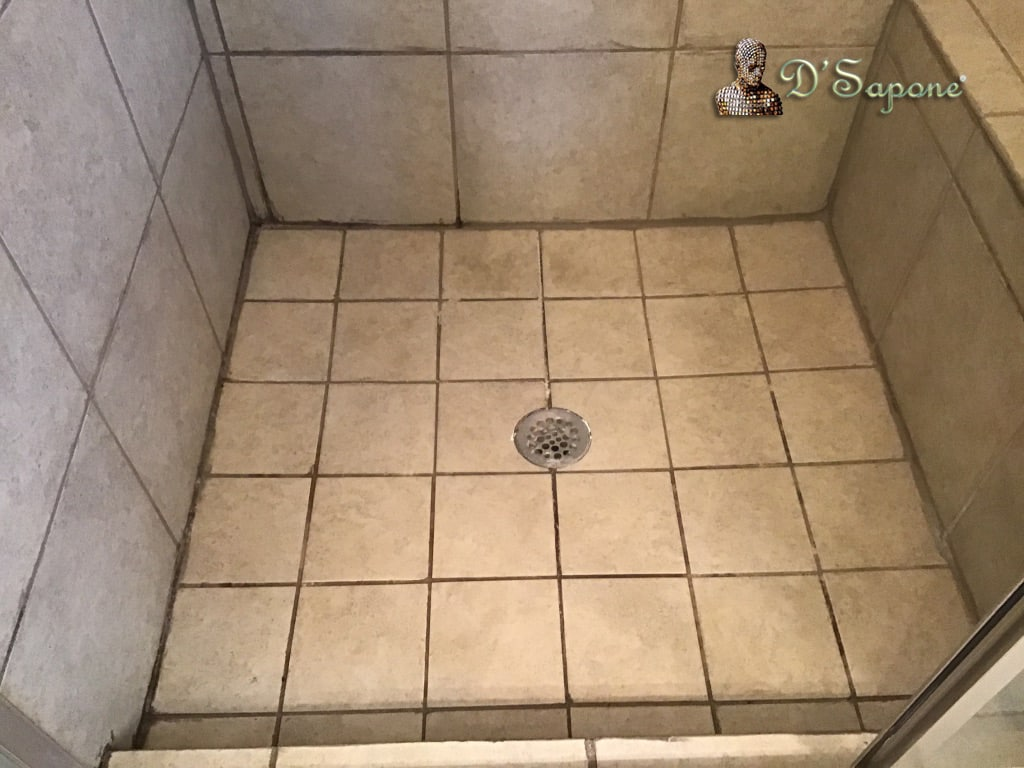 Shower Tile and Grout Cleaning