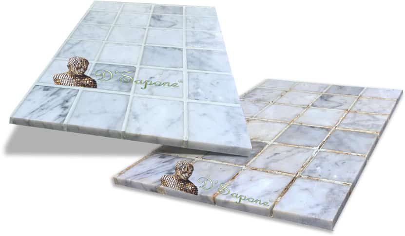 D'Sapone's Tile and Grout Restoration Service with pFOkUS®' Products