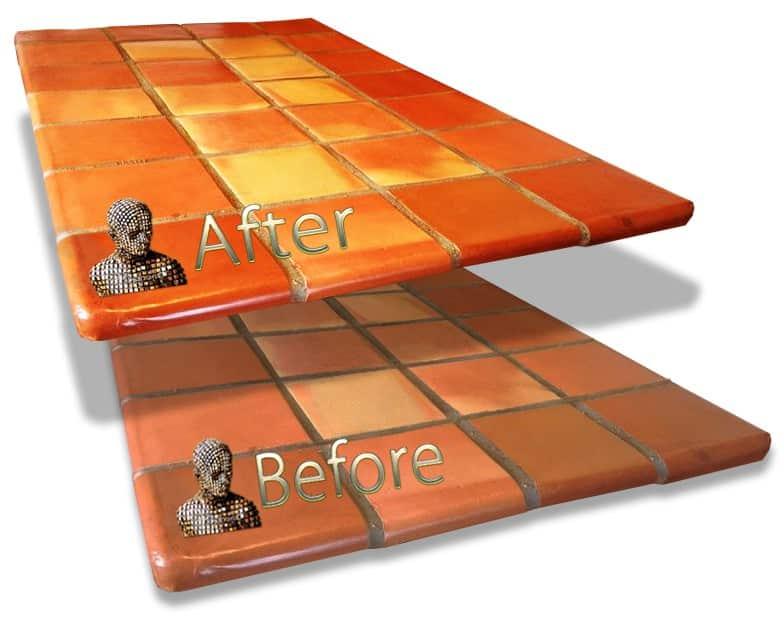 Sealing Saltillo Mexican Tile - D'Sapone