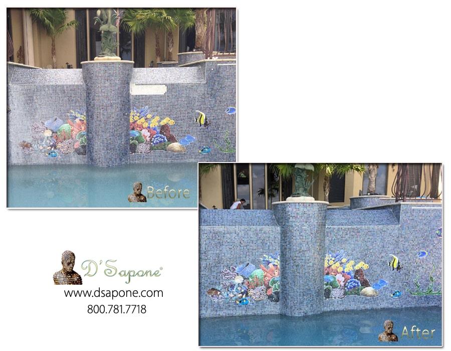 pool restoration service - D'Sapone