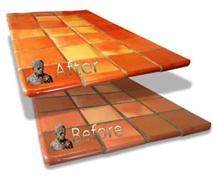 Saltillo Mexican Tile Restoration Service - D'Sapone