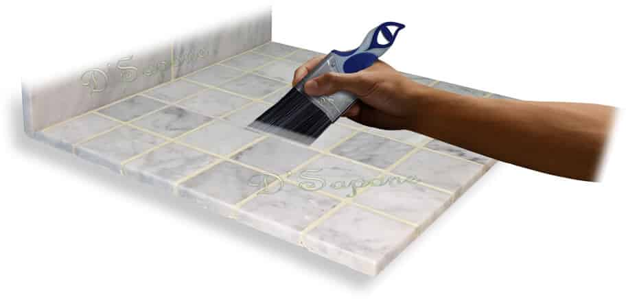 grout sealing service - D'Sapone