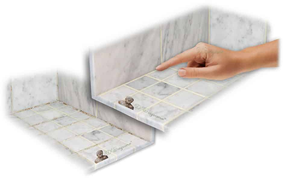 Shower-Re-Caulk-Mold-Mildew-Contractor-Service - D'Sapone