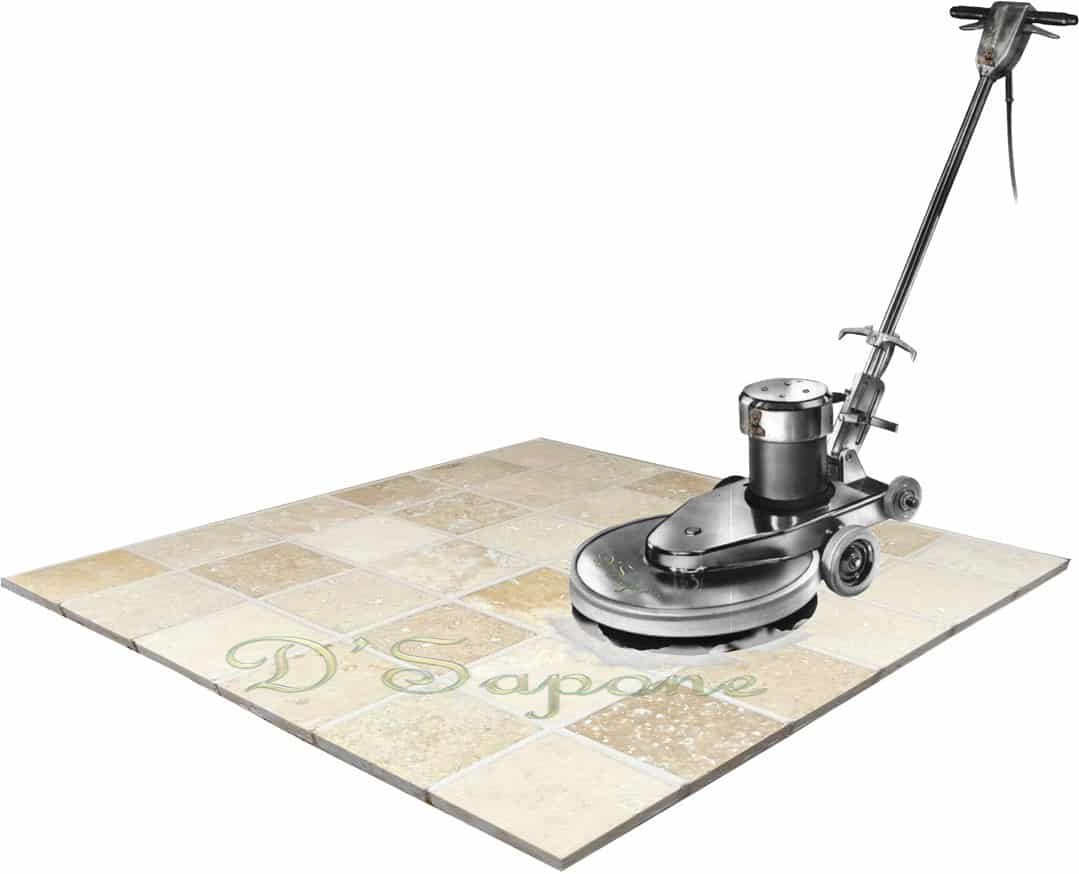 Travertine tile cleaning service