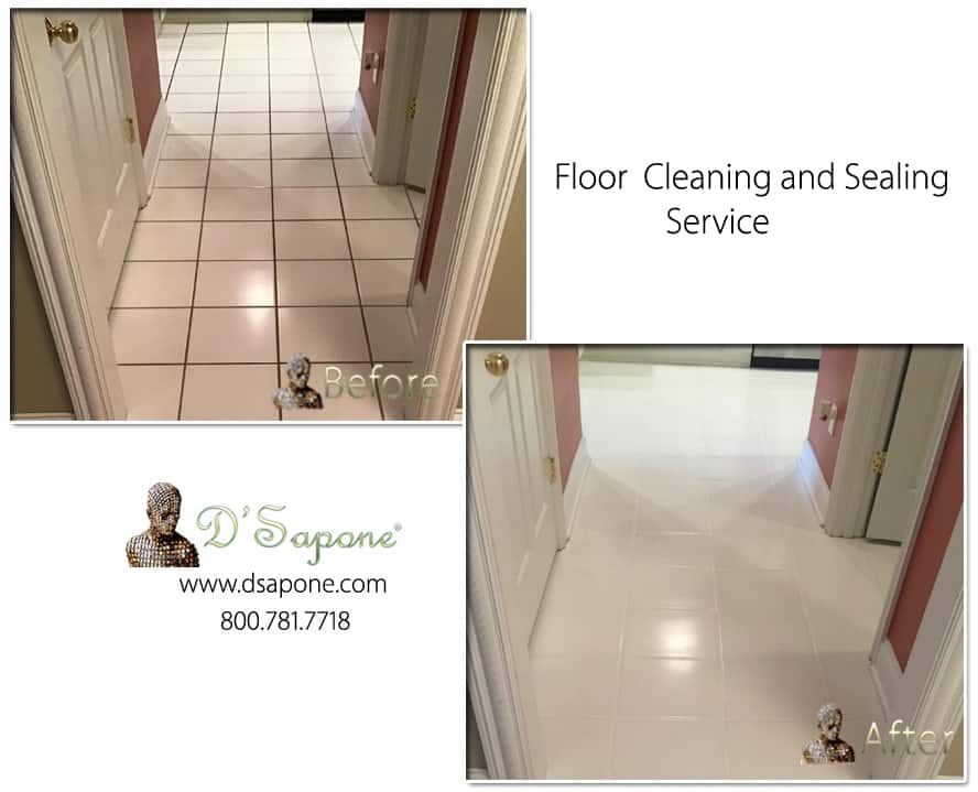 Procelain Tile Cleaning and Sealing1