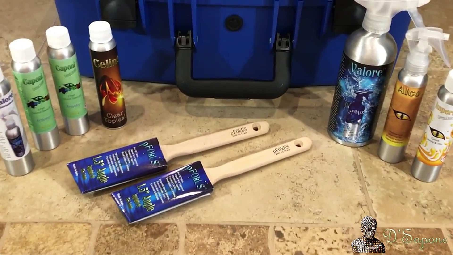 Deep cleaning with pfokus products - D'Sapone